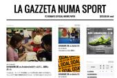 FC ROMANの今を伝えるオンライン新聞『ガゼッタ・ヌマ・スポルト』創刊!