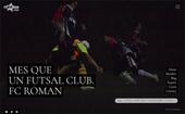 FC ROMANウェブサイトトップページが新しくなりました!